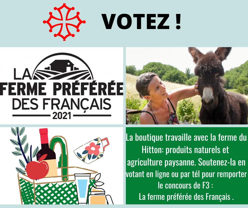 Soutenez un de nos partenaires fermiers !!!