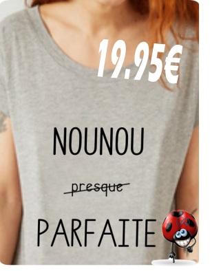 T-shirt fille avec message