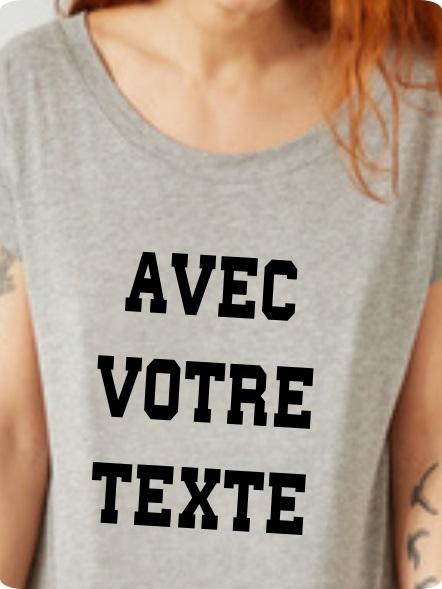 personnalisation tee-shirt