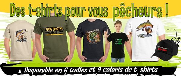 boutique de tee-shirt pêche