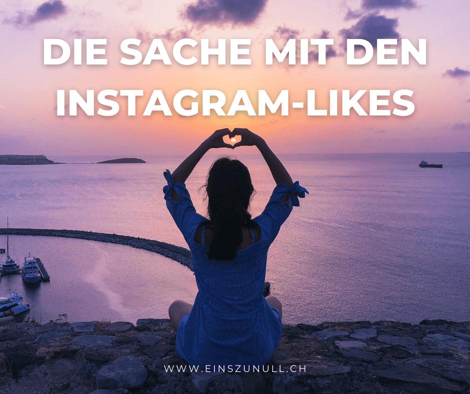 Die Sache mit den Instagram-Likes
