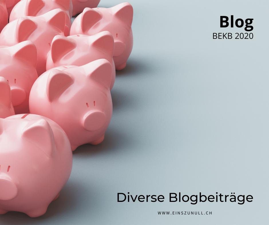 Der neue BEKB-Blog ist online!