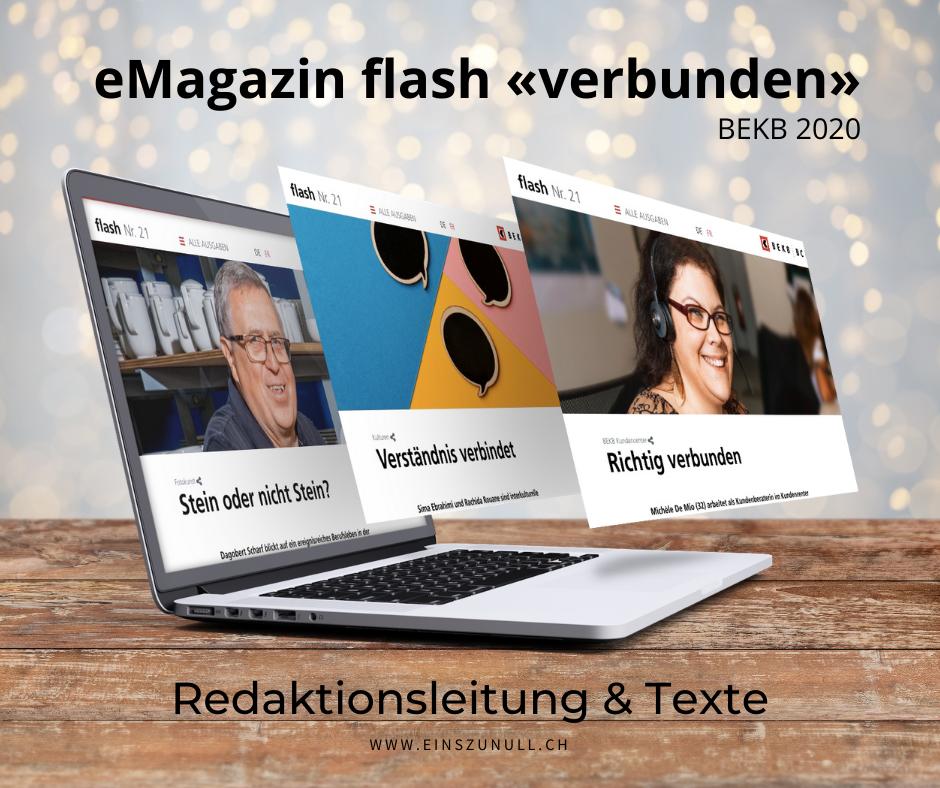«Verbunden»: Das neue BEKB flash ist online!
