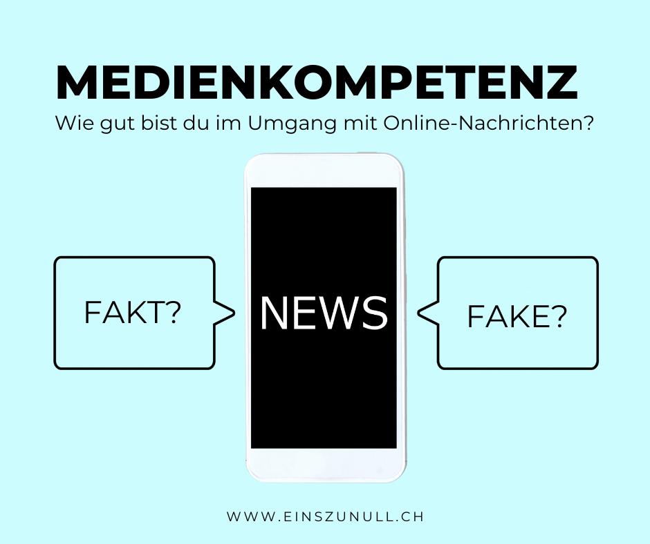 Medienkompetenz: Wie gut bist du im Umgang mit Nachrichten im Internet?