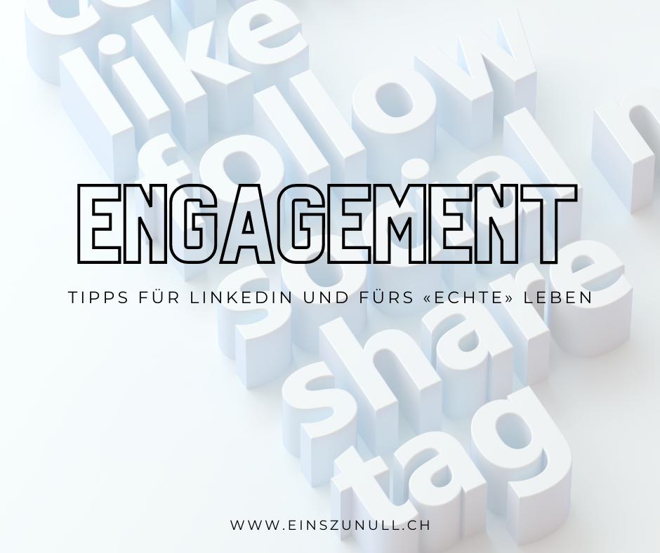 Meine Tipps für mehr Engagement auf LinkedIn*