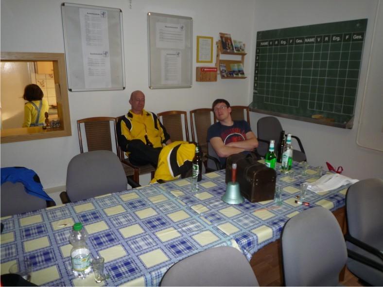 Verstärkung und die Neuzugänge für die nächste Saison, Mike Chilcott und Tobias Schröter