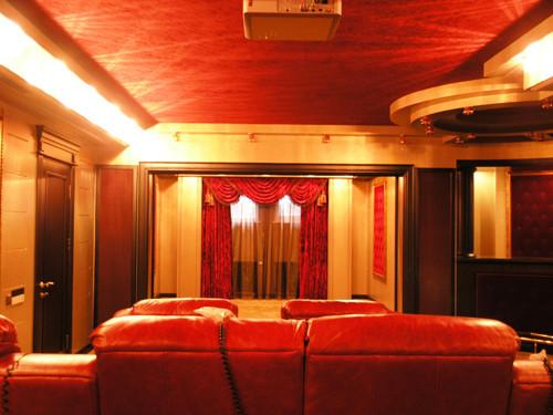 Персональный кинозал, 2007 г., Загородный дом (цокольный этаж), Акустика B&W (фото 1)