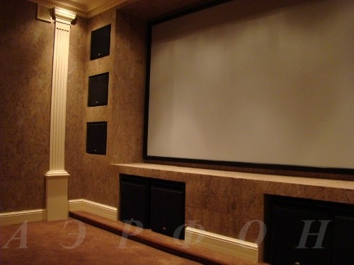 Кинозал от компании Аэрфон. Инсталляция 2007 г. (фото 2)