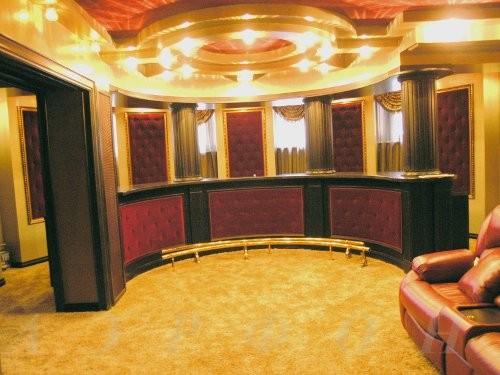 Персональный кинозал, 2007 г., Загородный дом (цокольный этаж), Акустика B&W (фото 4)