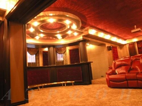 Персональный кинозал, 2007 г., Загородный дом (цокольный этаж), Акустика B&W (фото 3)