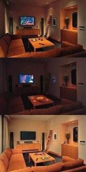 Сценарии освещения в комнате