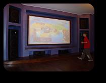 Домашний кинозал класса ОПТИМУМ