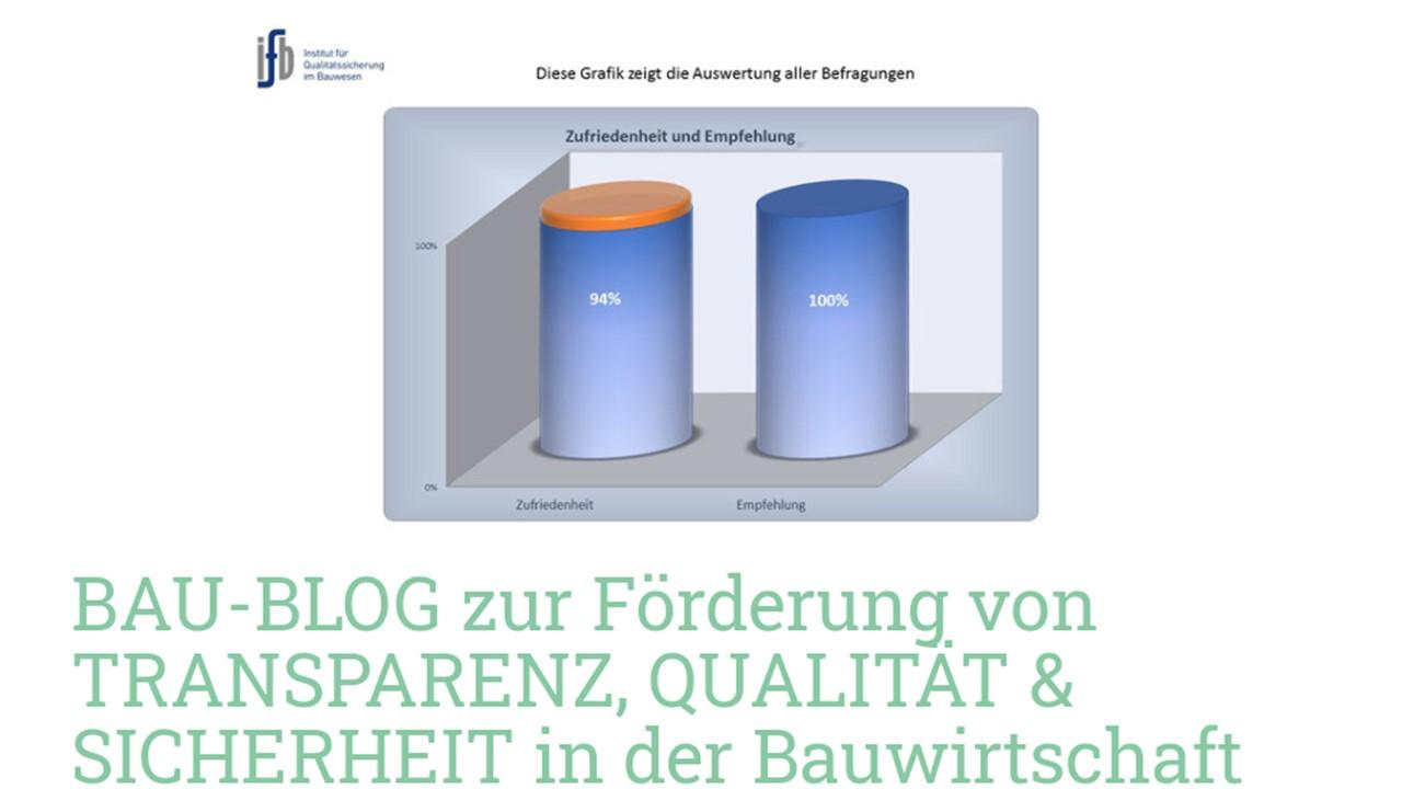 BAUHERREN-PORTAL: Präsentationsbühne für Bauunternehmen als Qualitätsanbieter