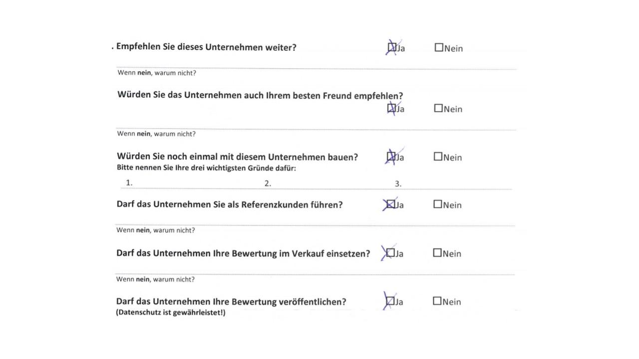 BAUHERRENreport GmbH: Testimonials sind für Bauunternehmen Schlüssel zum Erfolg
