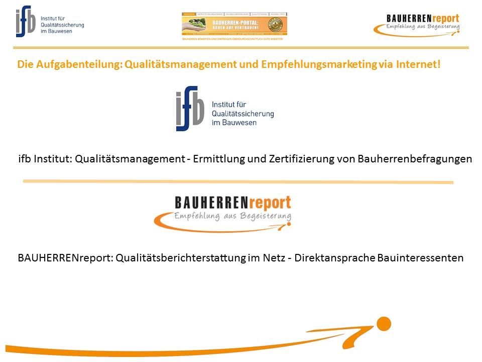 BAUHERRENreport GmbH: Hier lassen Bauunternehmen Empfehlungsmarketing realisieren