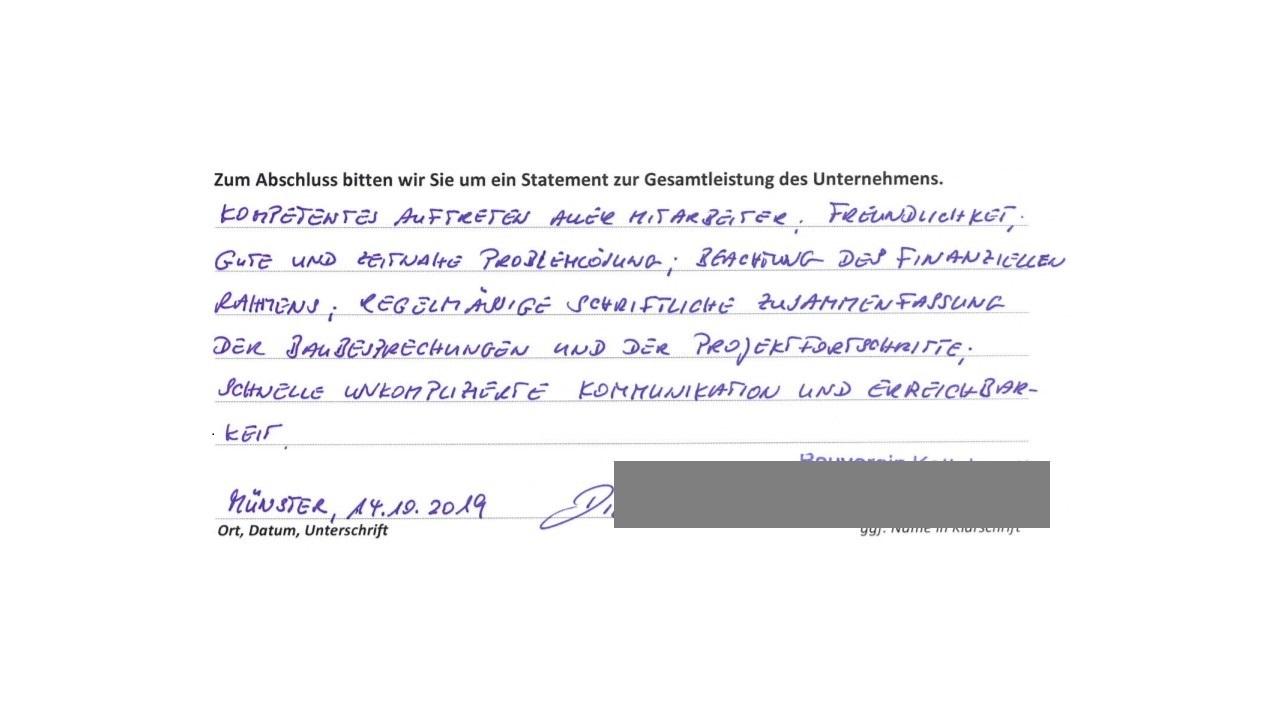 BAUHERRENreport GmbH 2022: Wie Bauunternehmen mehr Referenzen bekommen
