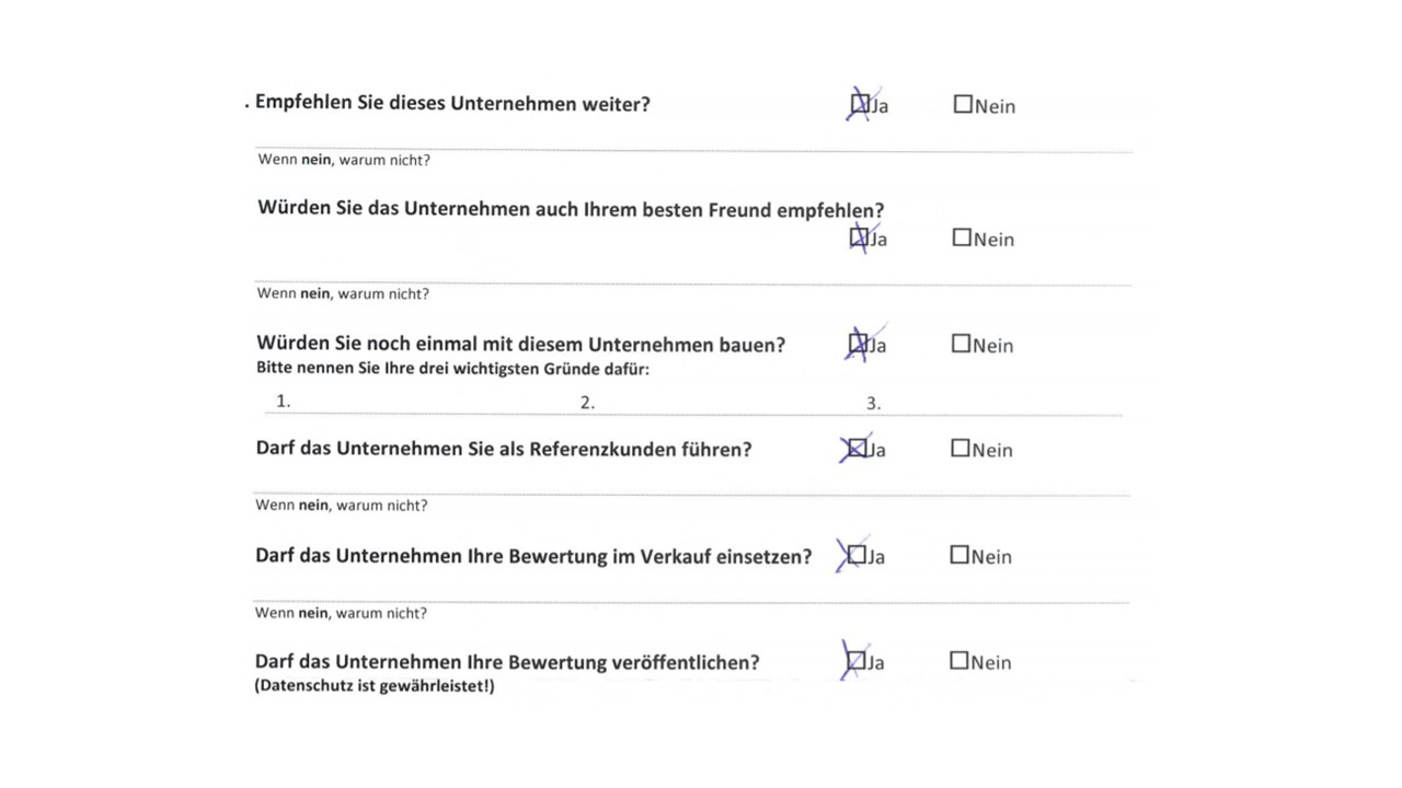 BAUHERRENreport GmbH: Professionelles Referenzmarketing mit Kundenbewertungen