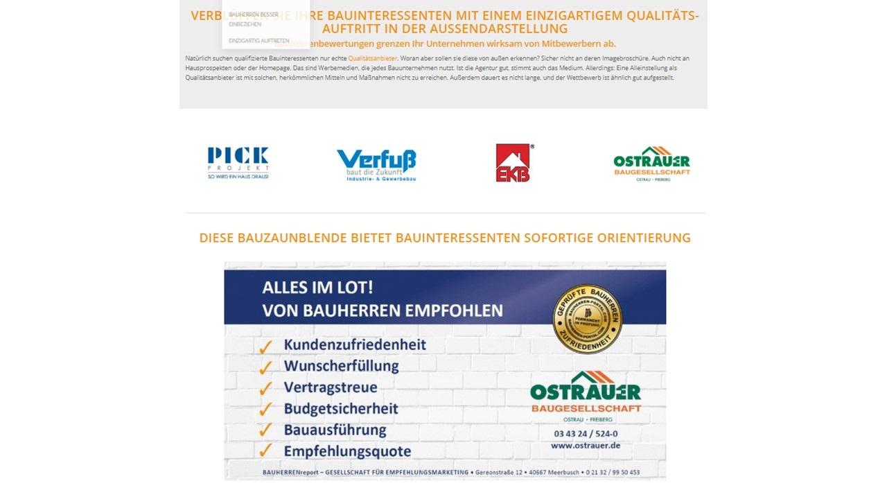 BAUHERREN-PORTAL: Win-win-Plattform für Bauinteressenten und Bauunternehmen