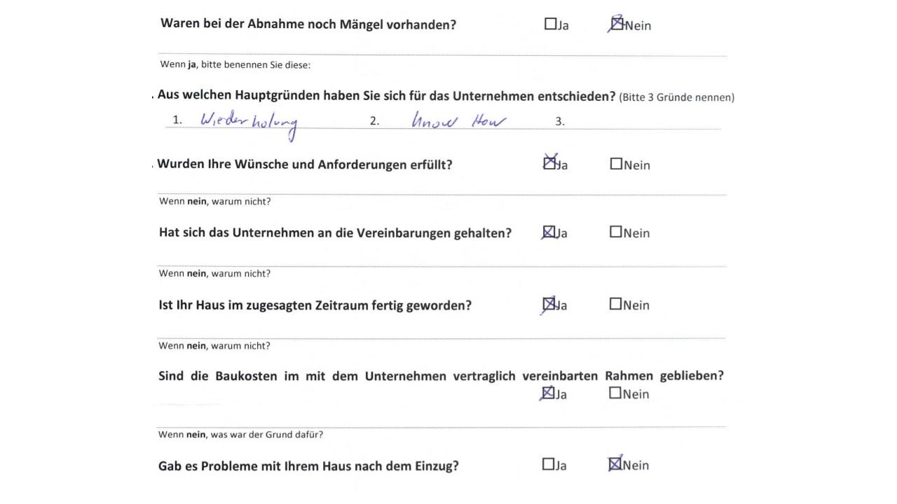 BAUHERRENreport GmbH: Bauinteressenten verstehen und zielführend bedienen