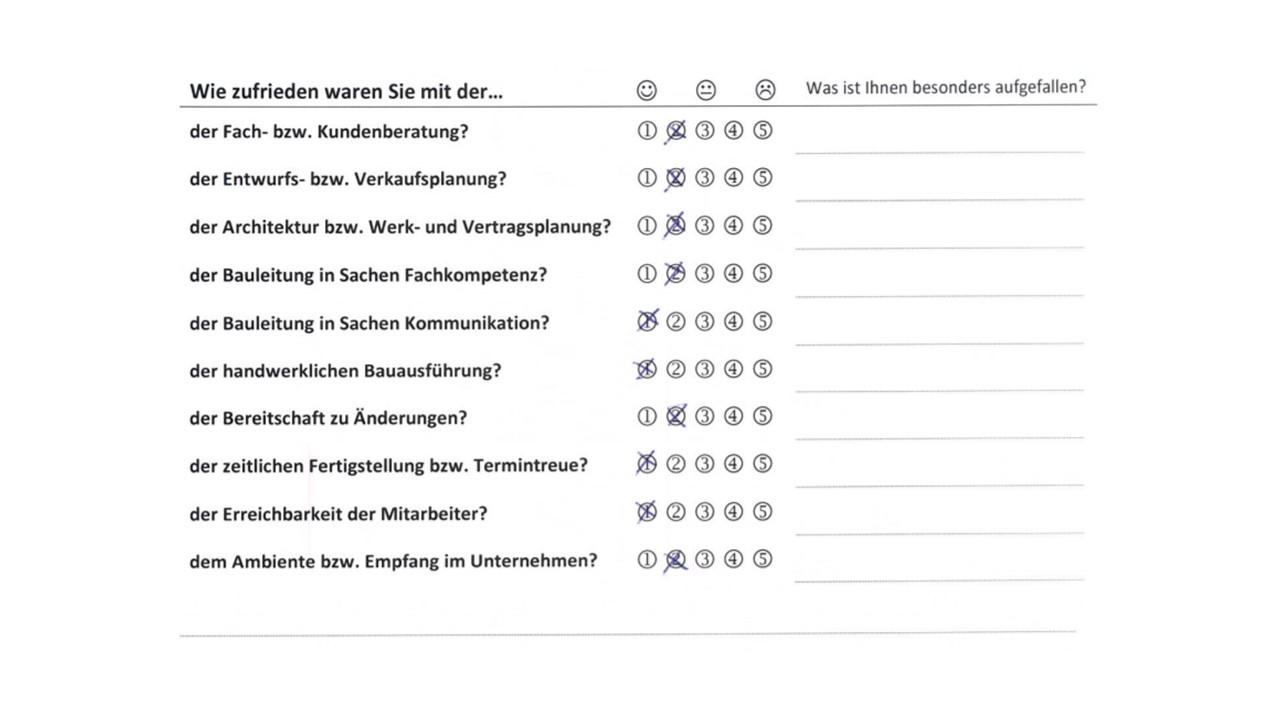 BAUHERRENreport GmbH: So zeigen Bauunternehmen ihre Servicequalität