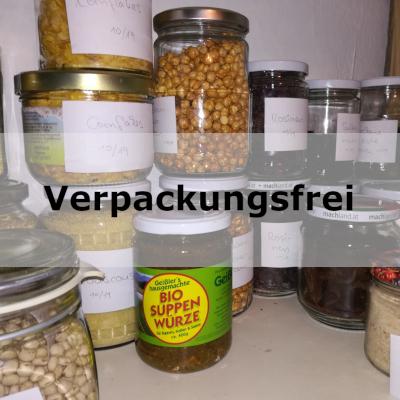 Lebensmittel - Verpackungsfrei