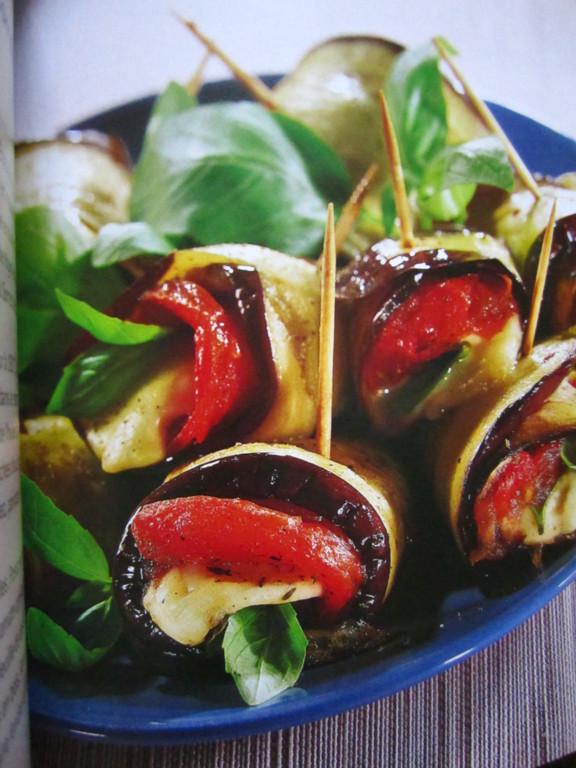 Roulés de légumes