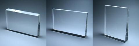 ペット用 お位牌 位牌 メモリアル  メモリアル プレート クリスタルガラス