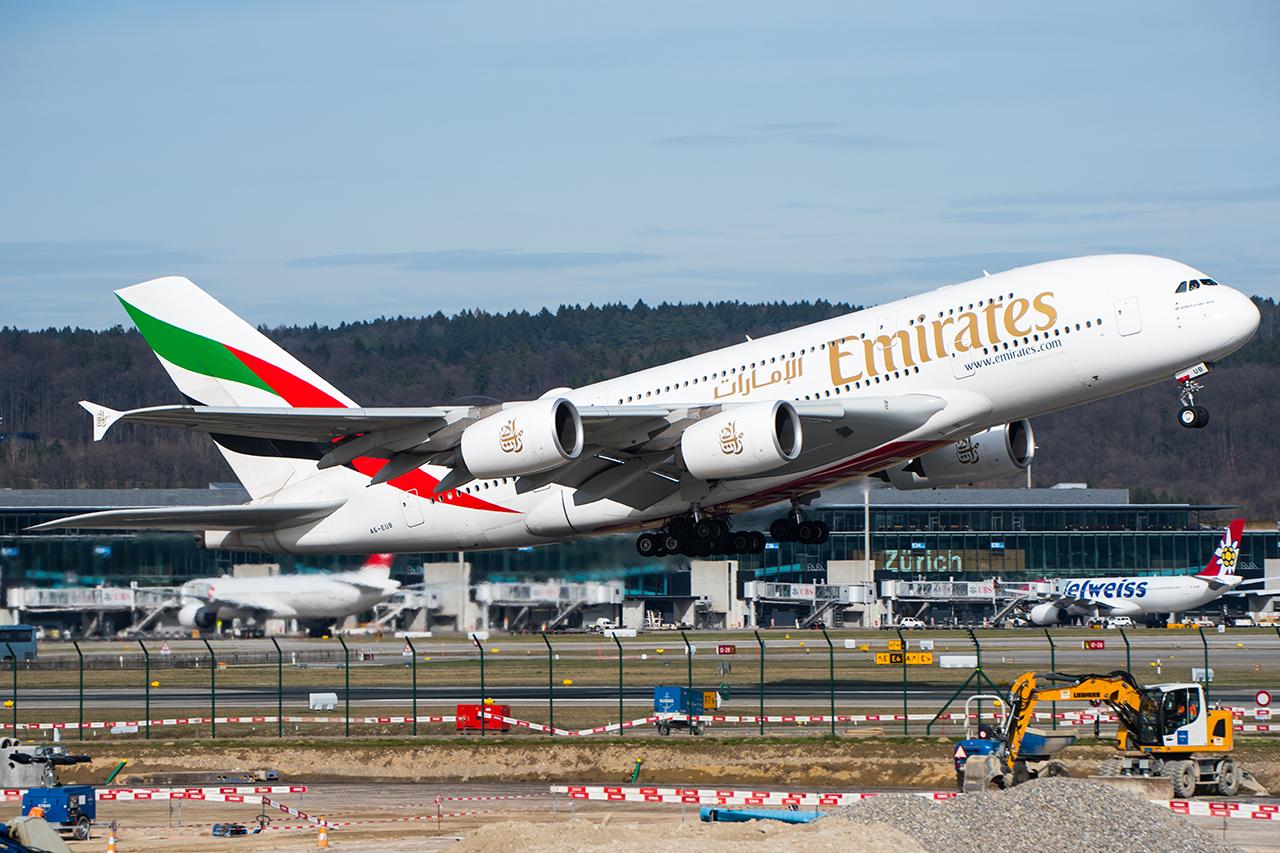 A6-EUB // Emirates // ZRH