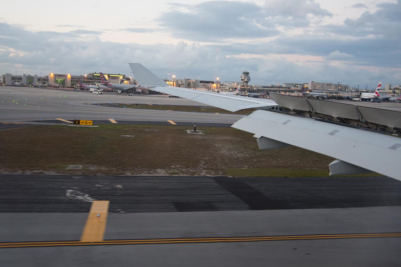 und nun heissts: hello Florida, hello USA