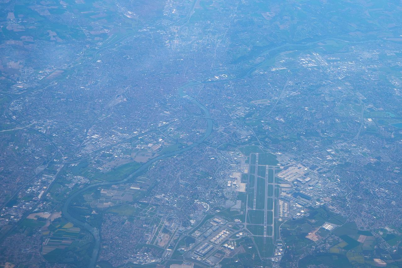 Flughafen und Airbus-Werk von Toulouse