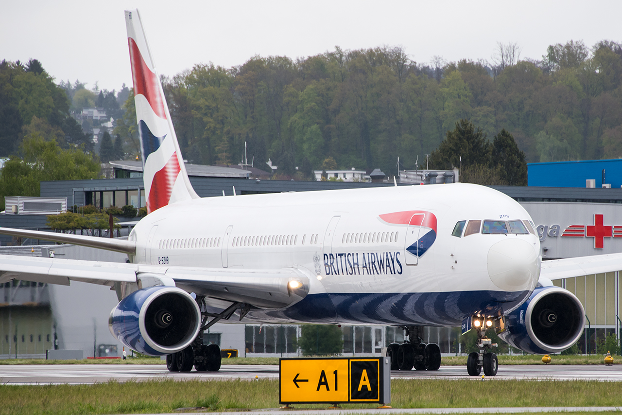 G-BZHB // British Airways //ZRH