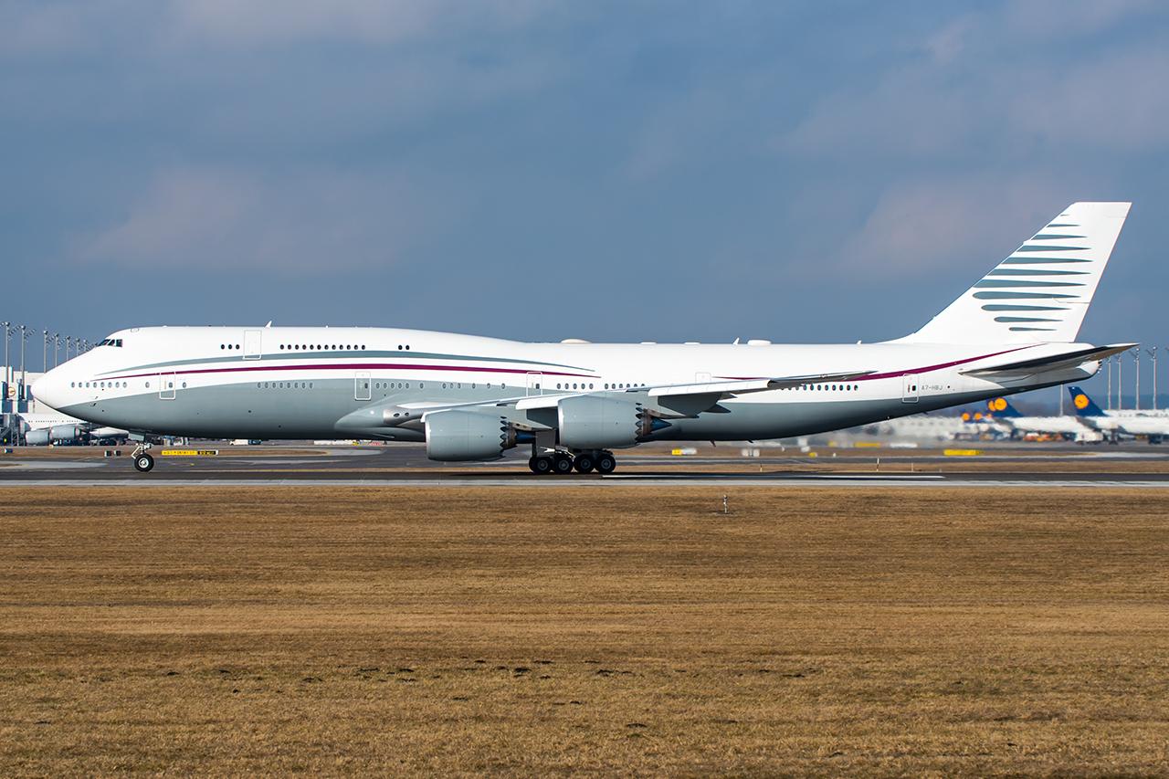 A7-HBJ // Qatar Amiri Flight // MUC