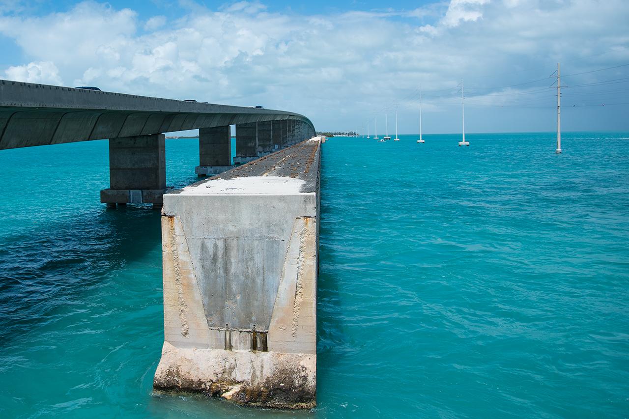 auf dem Weg nach Key West