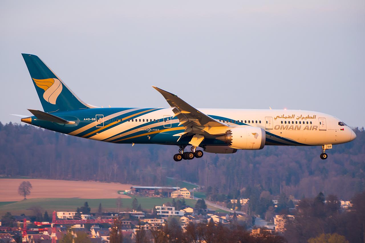 A4O-SB // Oman Air // ZRH