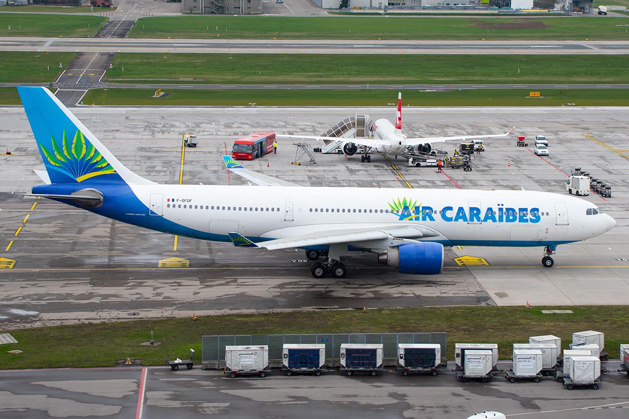 F-ODFD // Air Caraibes // ZRH