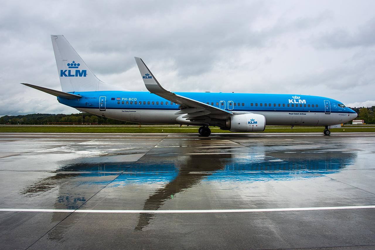 PH-BCD // KLM // ZRH
