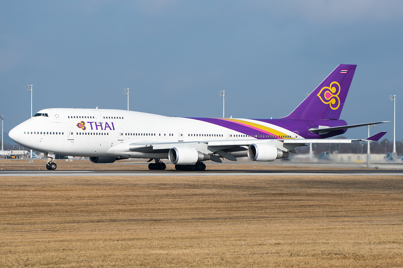 HS-TGG // Thai Airways International // MUC