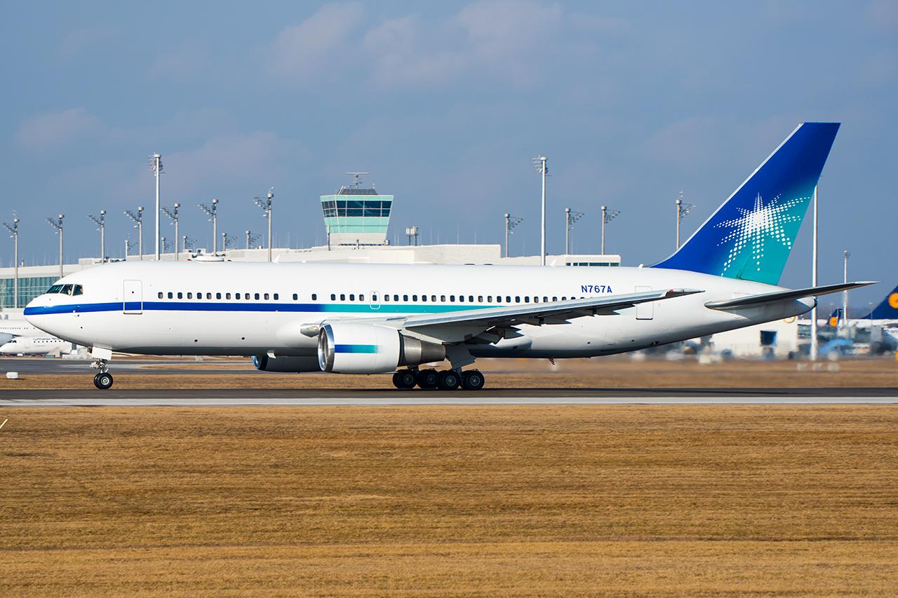 N767A // Saudi Aramco // MUC