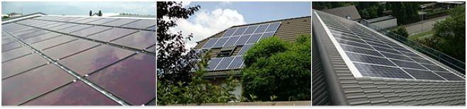 Photovoltaik Energie aus Sonne