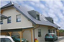 Neues Dach für ein Einfamilienhaus