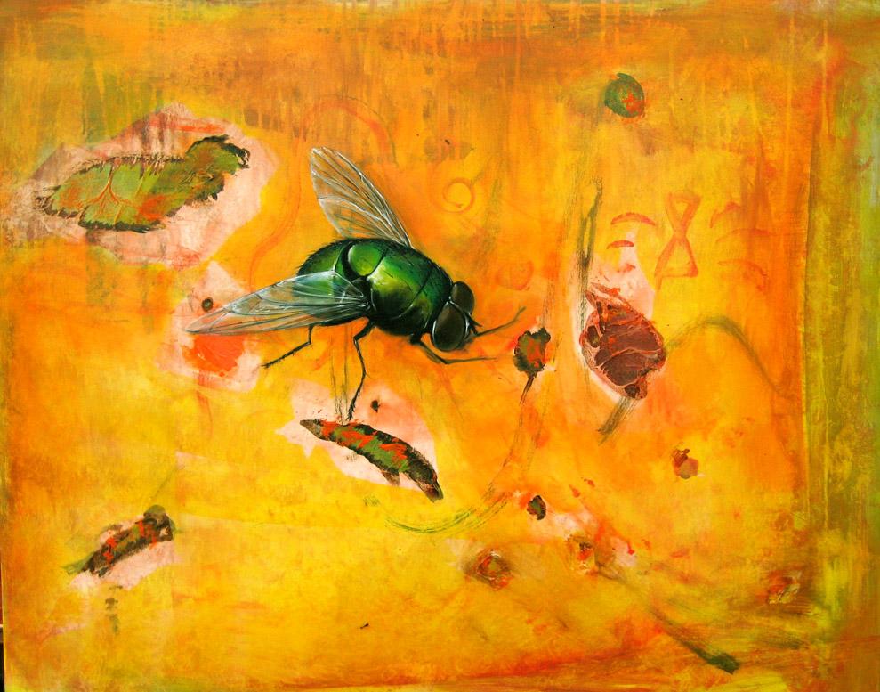 "biosphere ""organic 1"", 80x100cm, 2012"