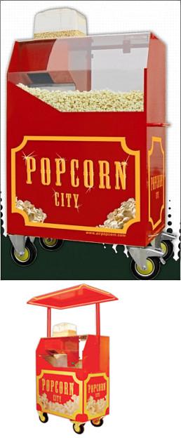 Popcorn City Verkaufswagen