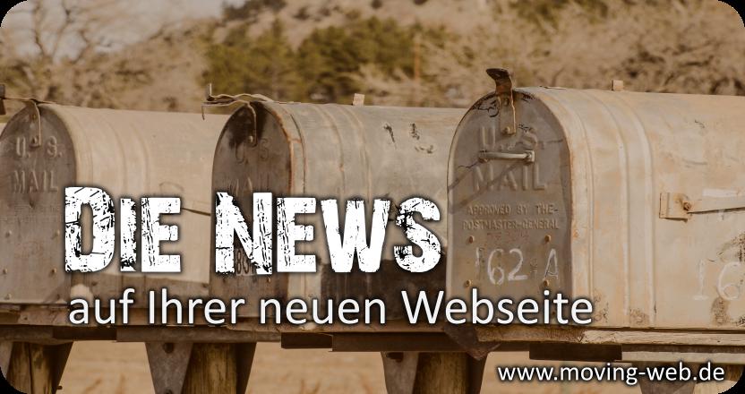 Termine, Neuigkeiten, Fachthemen und Angebote schnell und einfach im eigenen Blog auf der Website posten. Webseitengestlatung durch www.moving-web.de.