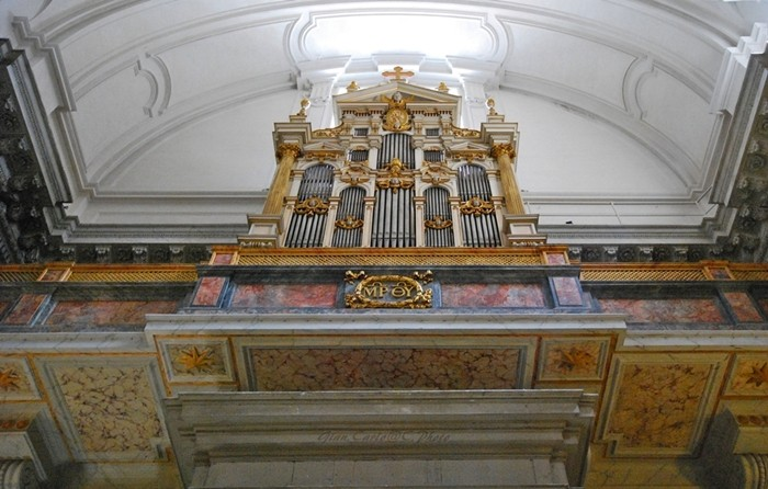 organo a S.Maria al Portico D'Ottavia