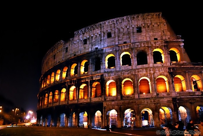Colosseo -Notturno-