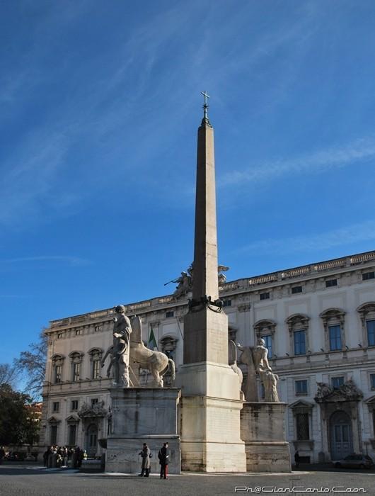 la piazza del Quirinale