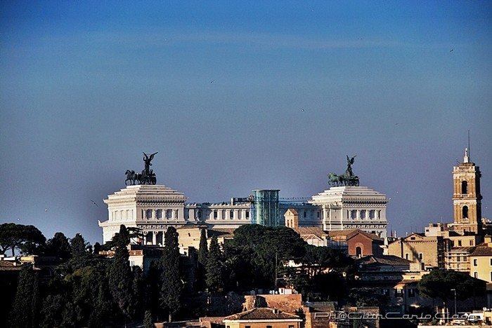 Piazza Venezia dall'Aventino