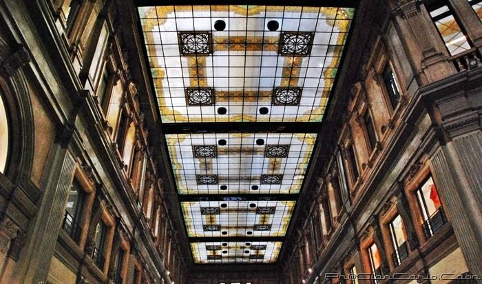 Galleria A.Sordi -il Soffitto-