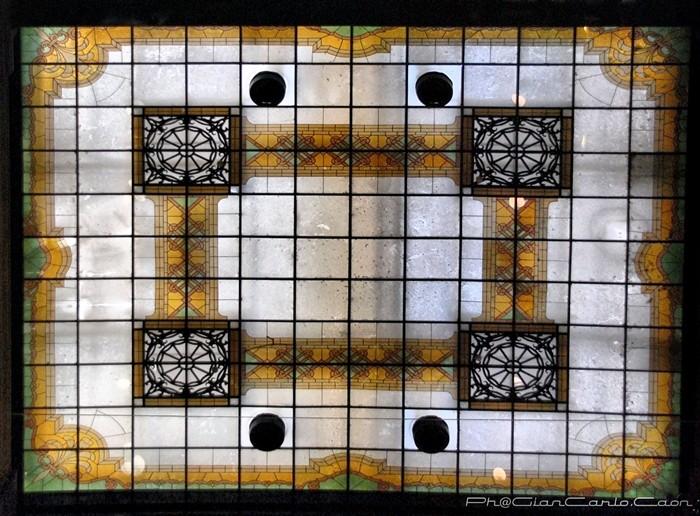 Galleria A.Sordi- Il soffitto -particolare