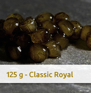 Foto/Grafik: 125 g CLASSIC ROYAL Kaviar in Hamburg kaufen | Bestellen via Online Shop bei GOLDEN CAVIAR